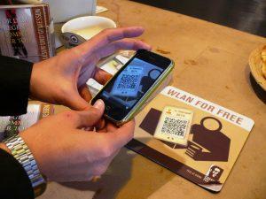 10stamps beim QR-Code scannen