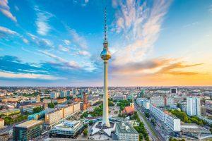 Luftbild von Berlin - Berliner Startups im Überblick