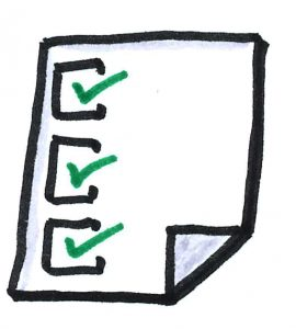 Checklist für CRM-System
