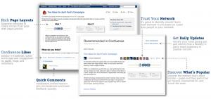Screenshot von Confluence als mögliches Market Factbook