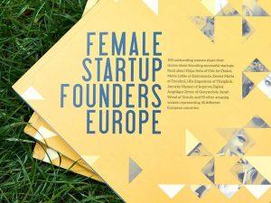 Cover der Ausgabe Mai 2016 von The Hundert zu 100 erfolgreichen Gründerinnen aus 40 europäischen Ländern