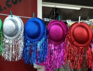 Farbige Hüte wie Denkhüte von de Bono