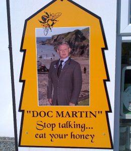 Bild von Werbetestimonial Doc Martin