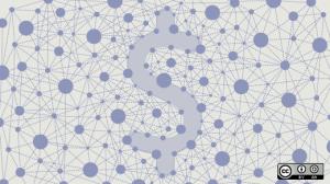 Dollarzeichen im Social Network als Symbol für friendsurance
