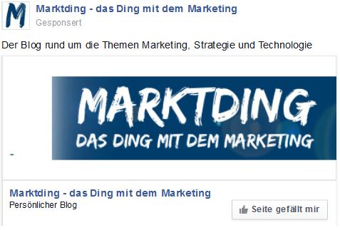 Was Bringen Facebook Werbeanzeigen Ein Selbstversuch Marktding