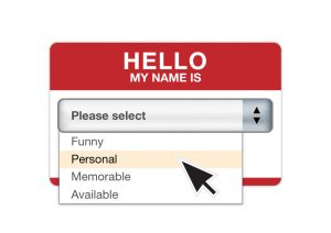 Personal Branding als Namensschild