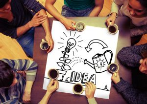 Innovationskultur als Arbeiten im Team