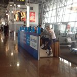 Randnotiz: interaktives Markenerlebnis – Akkuladen mit Muskelkraft
