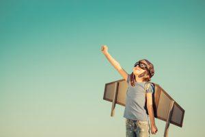 Kind als Pilot will Innovationen umsetzen