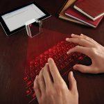 Mit der Lasertastatur schneller tippen auf dem iPad?