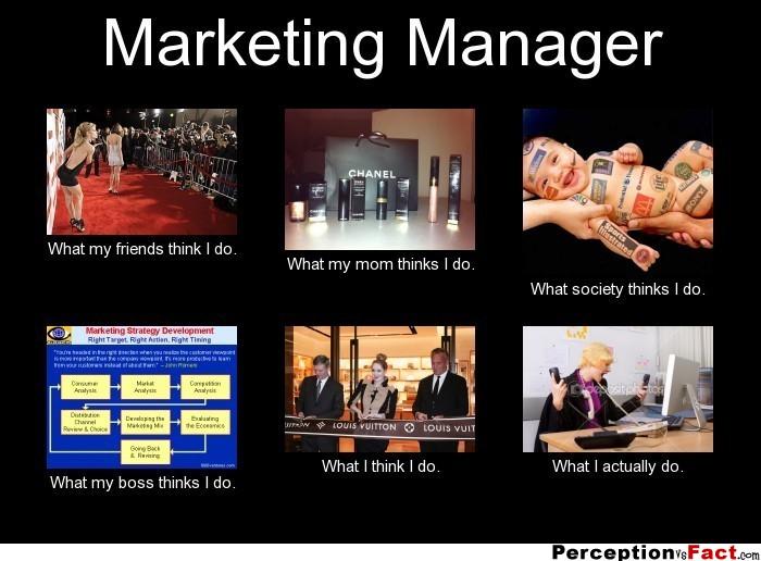 Was macht ein Marketing Manager - Perception vs Facts