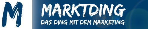 Logo Marktding - Das Ding mit dem Marketing
