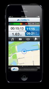 Screenshot der Runtastic-App