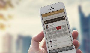 TerminApp auf iPhone
