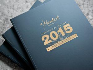 Cover The Hundert Jahresrückblick