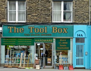 Marketing-Tools in der Tool Box